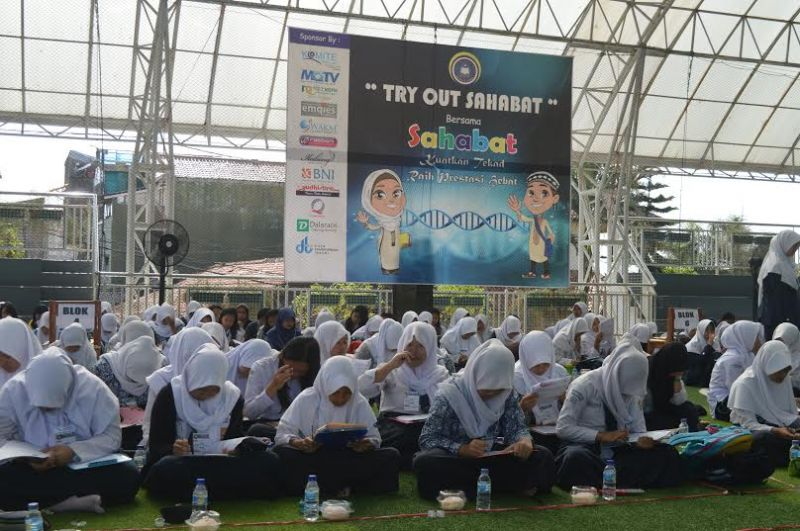 SMP DT Gelar Try Out Sahabat