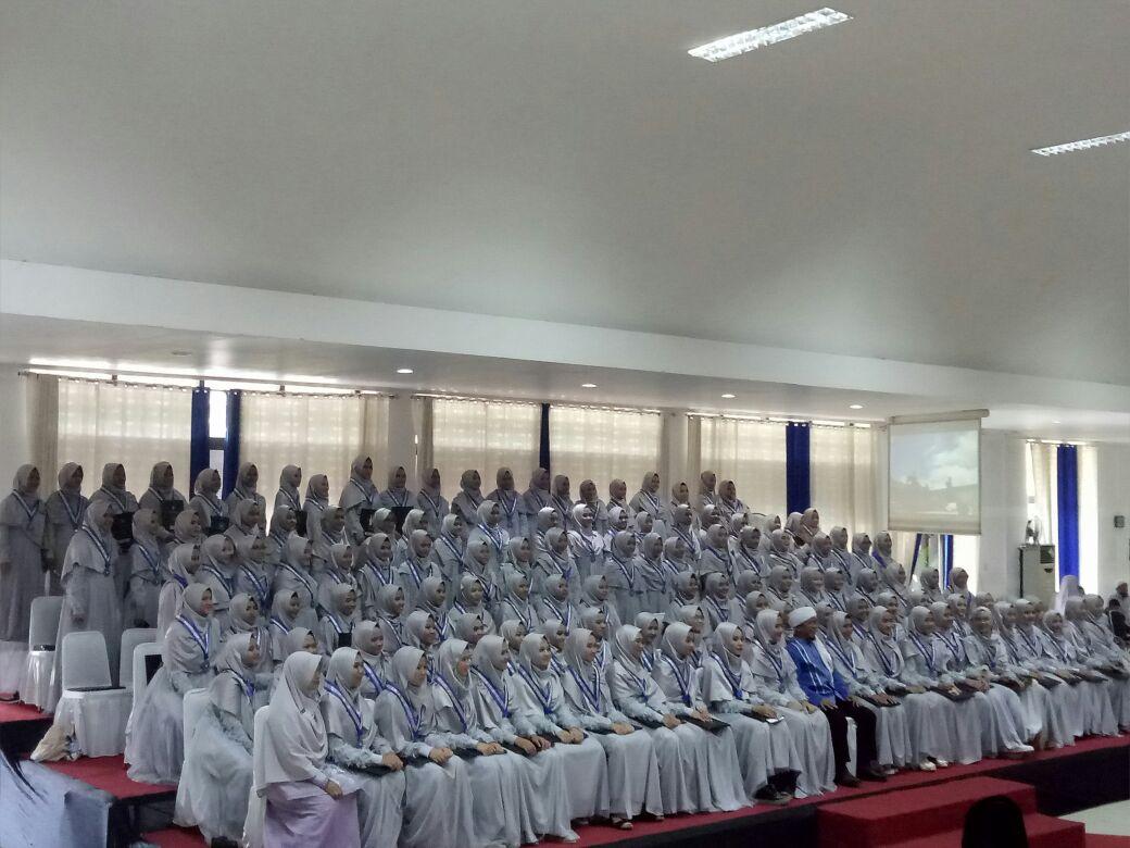 SMP DT Gelar Pelepasan dan Wisuda Angkatan 05